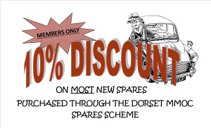 Spares discount